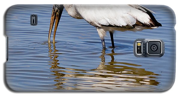 Wood Stork Galaxy S5 Case by Louise Heusinkveld