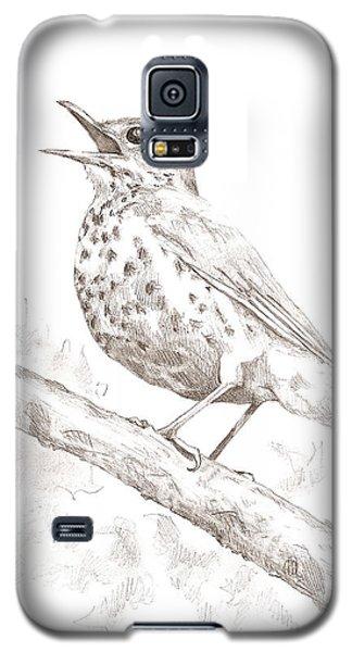 Wood Thrush Galaxy S5 Case