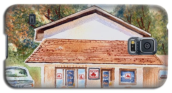 Woodcock Insurance In Watercolor  W406 Galaxy S5 Case