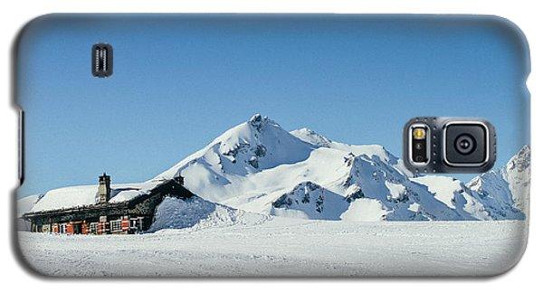 Wooden Alpine Cabin  Galaxy S5 Case