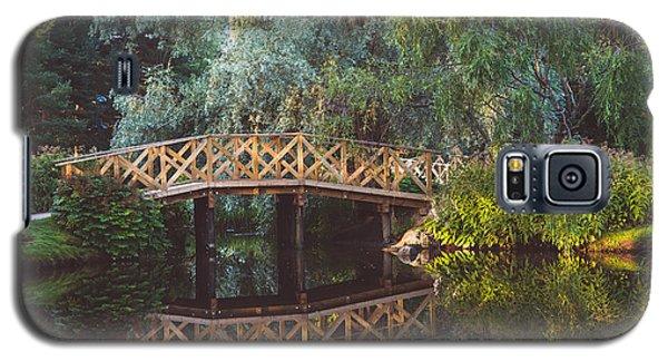 Galaxy S5 Case featuring the photograph Wooden Bridge by Ari Salmela