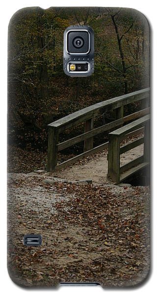 Galaxy S5 Case featuring the photograph Wooden Bridge by Kim Henderson