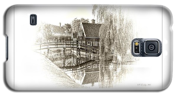 Wooden Bridge Galaxy S5 Case by Maciek Froncisz