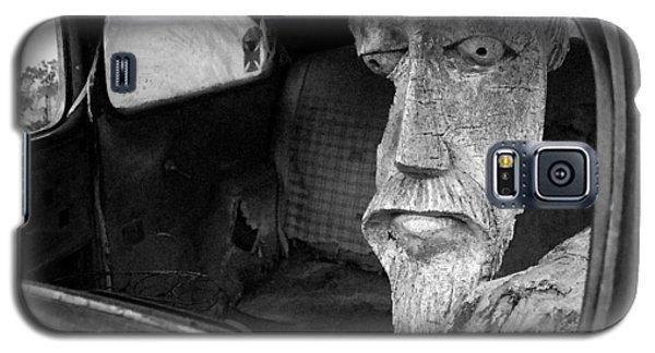 Wooden Head Galaxy S5 Case