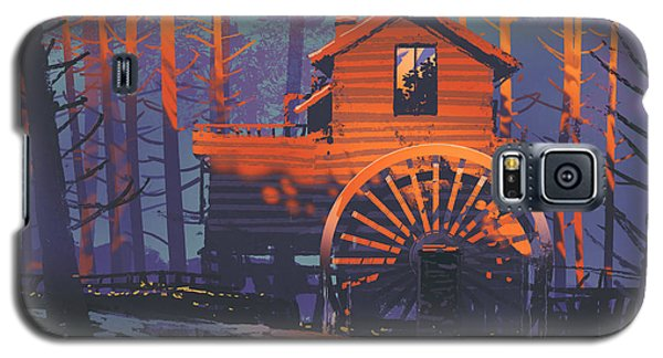 Wooden House Galaxy S5 Case