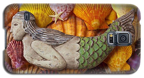 Wooden Mermaid Galaxy S5 Case by Garry Gay