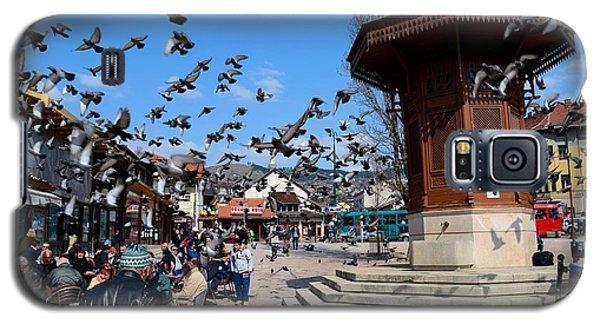 Wooden Ottoman Sebilj Water Fountain In Sarajevo Bascarsija Bosnia Galaxy S5 Case