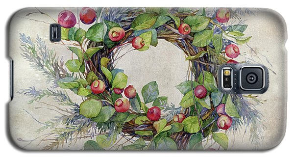 Woodland Berry Wreath Galaxy S5 Case by Colleen Taylor