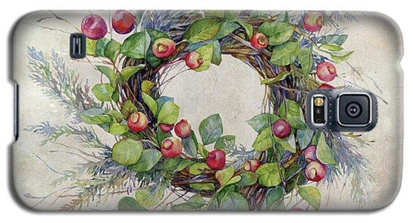 Woodland Berry Wreath Galaxy S5 Case