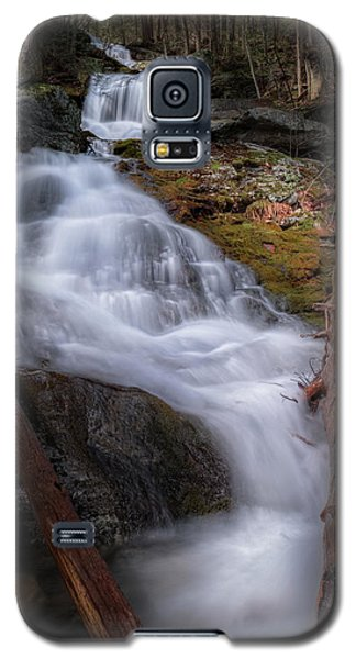 Galaxy S5 Case featuring the photograph Woodland Falls 2017 by Bill Wakeley