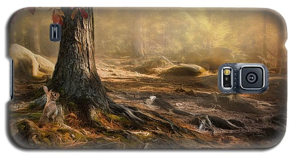 Galaxy S5 Case featuring the photograph Woodland Mist by Robin-Lee Vieira