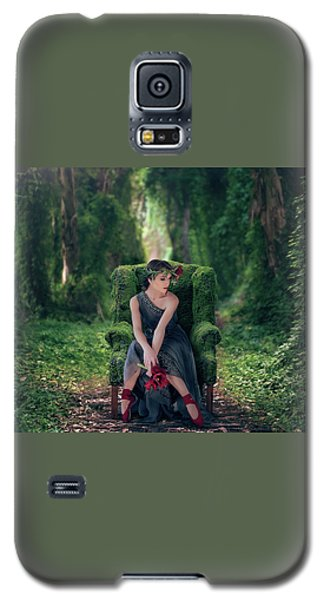 Galaxy S5 Case featuring the photograph Woodland Nymph by Debby Herold