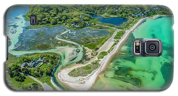 Woodneck Beach At 400 Feet Galaxy S5 Case