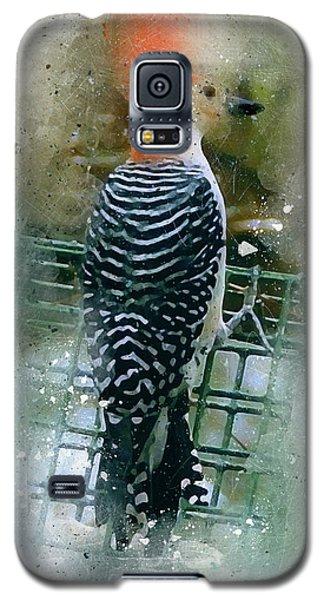Woodpecker-2-a-8 Galaxy S5 Case