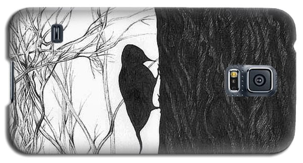 Woodpecker Galaxy S5 Case by Anna  Duyunova