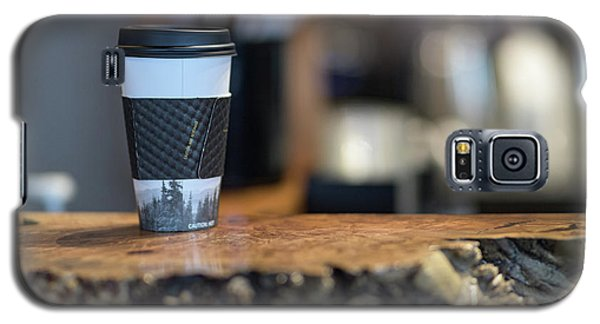 Galaxy S5 Case featuring the photograph Woods Coffee by Jim  Hatch