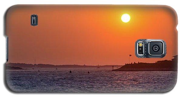 Woods Hole Sunset Galaxy S5 Case