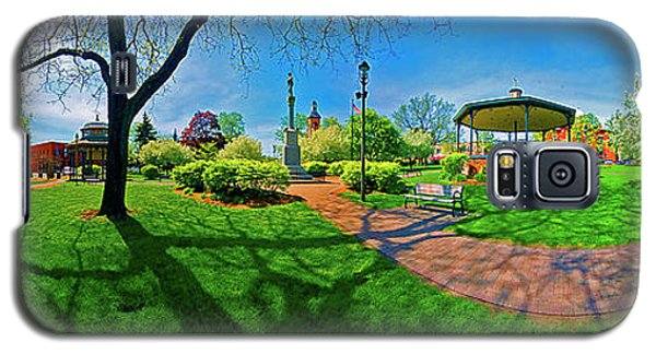 Woodstock Square Historic District 360 Spring Galaxy S5 Case