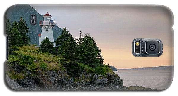 Woody Point Lighthouse - Bonne Bay Newfoundland At Sunset Galaxy S5 Case
