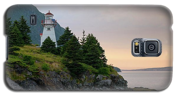 Woody Point Lighthouse - Bonne Bay Newfoundland At Sunset Galaxy S5 Case