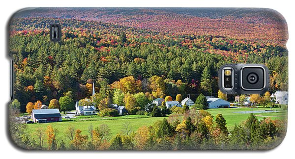 Worcester Vermont Autumn Galaxy S5 Case by Alan L Graham