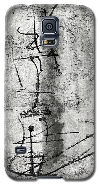 Galaxy S5 Case featuring the photograph Words On The Wall by Carol Leigh