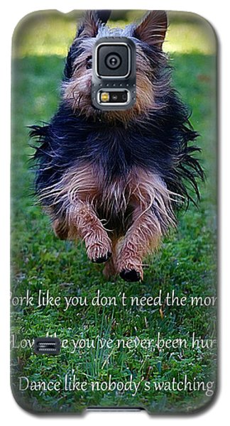 Words To Live By Galaxy S5 Case