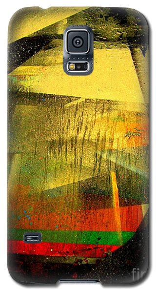 Galaxy S5 Case featuring the painting Work Bench by Greg Moores
