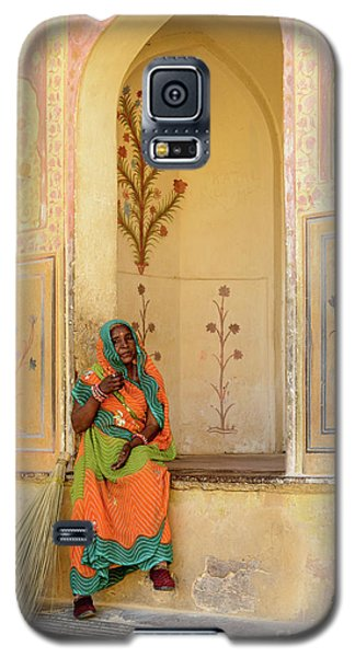Workers In Amer Fort 01 Galaxy S5 Case
