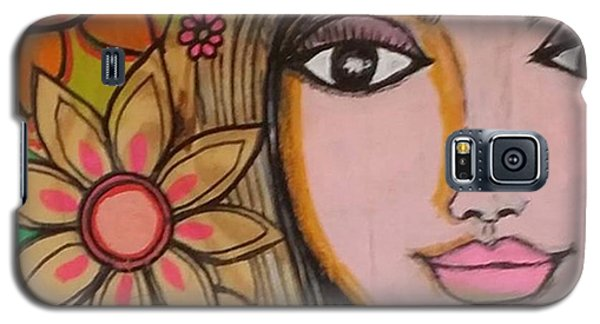 Beautiful Galaxy S5 Case - Working On A New #girliegirl On by Robin Mead
