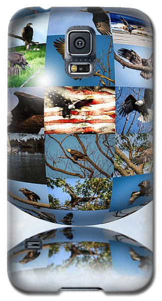 World Full Of Eagles Galaxy S5 Case by Eleanor Abramson
