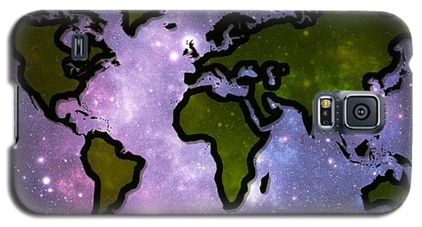 World In Space Galaxy S5 Case