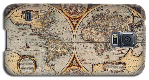 World Map 1636 Galaxy S5 Case