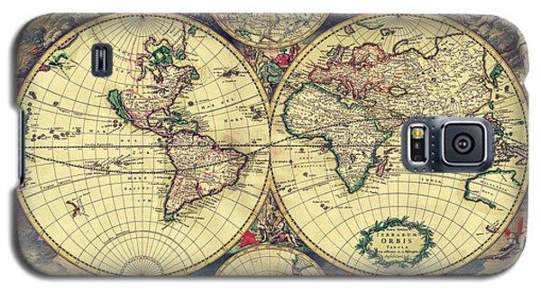 World Map 1689 Galaxy S5 Case