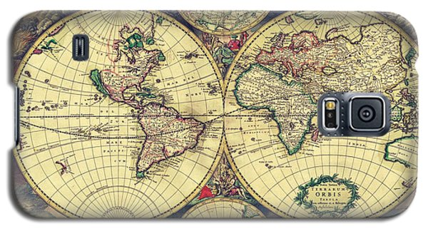 World Map 1689 Galaxy S5 Case