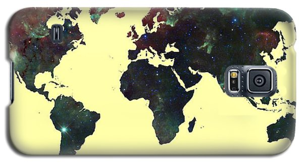 World Map 2 Galaxy S5 Case