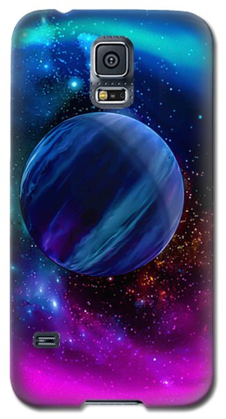 Galaxy S5 Case featuring the photograph World Of Water by Naomi Burgess