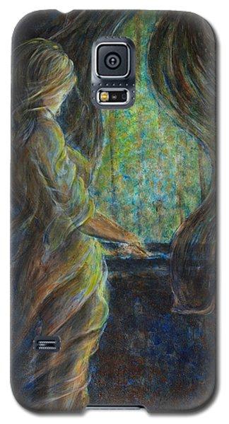 World Outside My Window Galaxy S5 Case by Nik Helbig