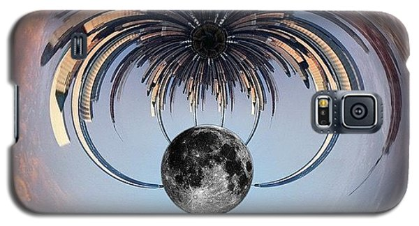 World Trade Center Tiny Planet Galaxy S5 Case by Susan Candelario