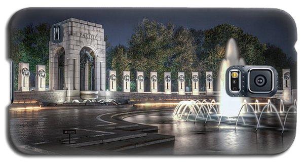 World War II Memorial At Night Galaxy S5 Case
