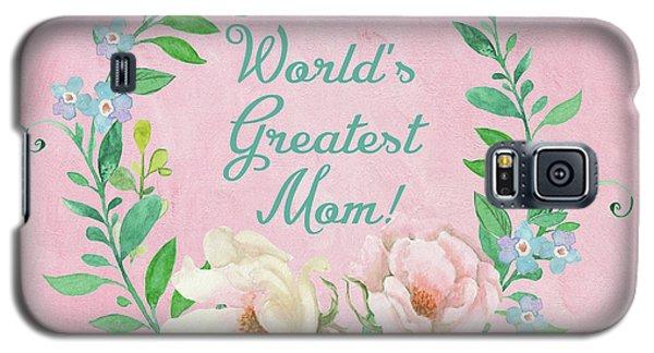 World's Greatest Mom Galaxy S5 Case