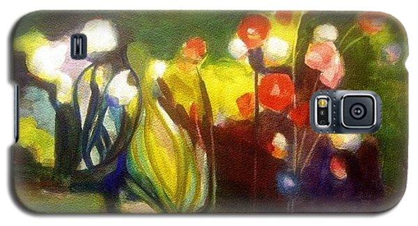 Warm Flowers In A Cool Garden Galaxy S5 Case