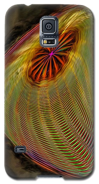Wormhole In Space Galaxy S5 Case