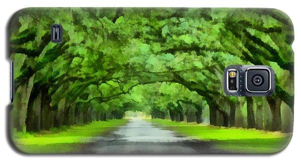 Wormsloe Plantation Galaxy S5 Case by Lynne Jenkins