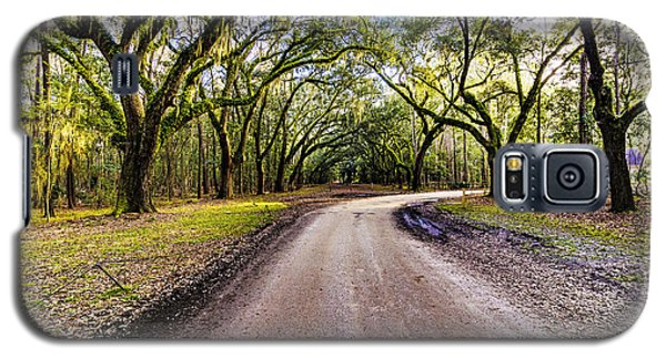 Galaxy S5 Case featuring the photograph Wormsloe Road by Anthony Baatz