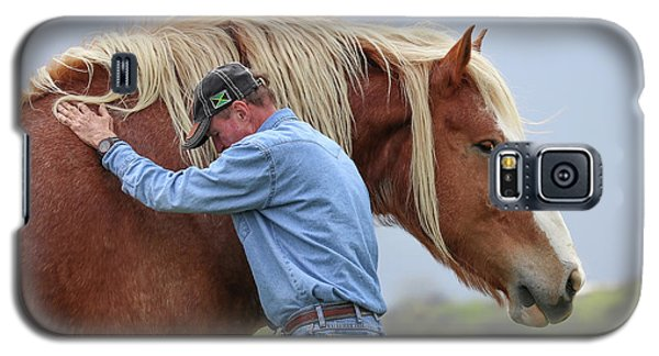 Wrangler Jeans And Belgian Horse Galaxy S5 Case