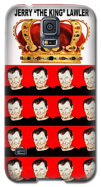 Wrestling Legend Jerry The King Lawler IIi Galaxy S5 Case by Jim Fitzpatrick