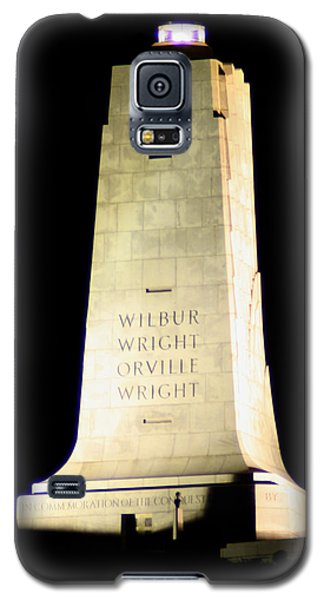 Galaxy S5 Case featuring the photograph Wright Brothers' Memorial by Karen Harrison