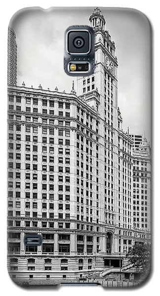 Galaxy S5 Case featuring the photograph Wrigley Building Chicago by Adam Romanowicz