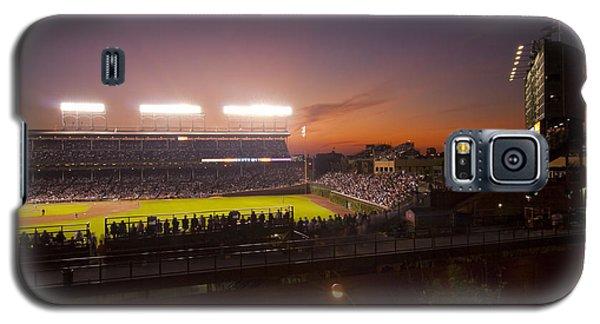 Wrigley Field At Dusk Galaxy S5 Case